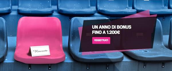 1.200 euro bonus Gazzabet