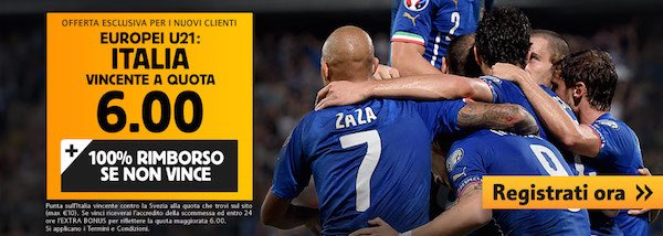 Italia-Svezia U21