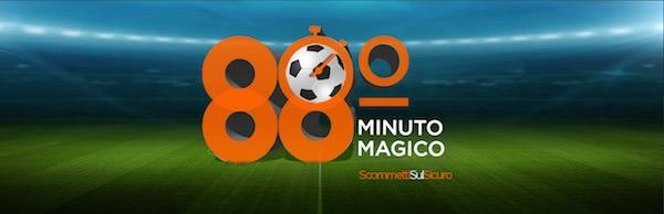 Promozione 88° minuto magico di 888sport