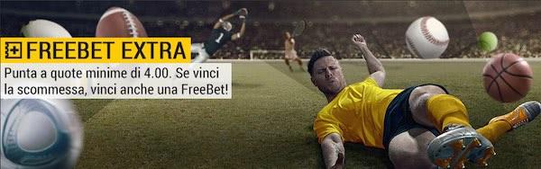 FreeBet Extra bwin: scommetti con quote minime 4 e aumenta le vincite