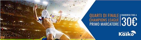 Kasko Snai primo marcatore per i quarti di Champions League