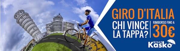 Snai Kasko per il Giro d'Italia 2016 di ciclismo