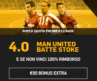 betfair manchester united stoke city 15-01-2018