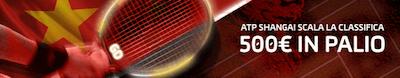 Scommetti Gojowczyk ATP Shangai con 500 Euro in palio